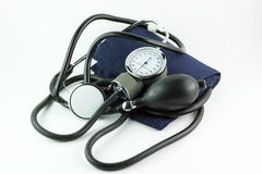 Blood pressure measure Royalty Free Stock Photo