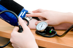 Free Blood Pressure Measurement Royalty Free Stock Photo - 15258615