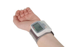 Blood Pressure measuring Stock Photography