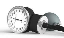 Blood pressure measuring device Royalty Free Stock Photo