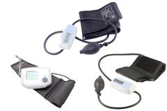 Blood pressure measuring instruments Royalty Free Stock Photos