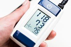 Blood pressure measuring Stock Photos