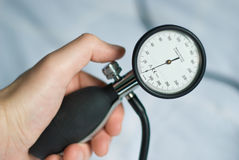 Blood pressure meter Stock Photography