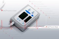 Blood pressure meter Royalty Free Stock Image