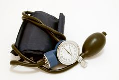 Blood pressure meter Stock Image