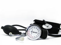 Blood pressure meter Stock Photos