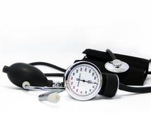 Blood pressure meter Stock Photos