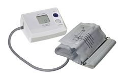 Blood pressure meter Royalty Free Stock Photo