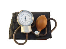Blood pressure meter. On white background Stock Images