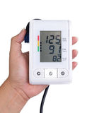 Blood pressure meter. Royalty Free Stock Photos