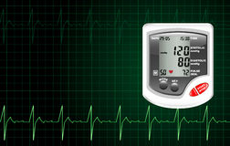 Blood Pressure Monitor Stock Photography