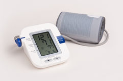Blood Pressure Monitor. Modern portable blood pressure monitor Royalty Free Stock Images