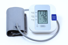 Blood pressure monitor Royalty Free Stock Photo
