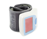 Blood pressure monitor. Royalty Free Stock Image