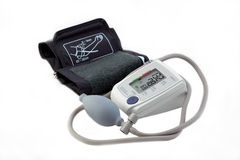 Blood pressure monitor Royalty Free Stock Images
