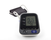 Blood pressure monitor Royalty Free Stock Photography