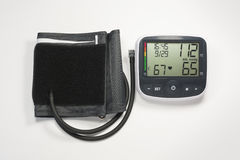 Blood Pressure Monitor Stock Photos