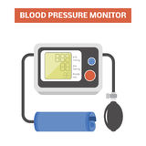 Blood pressure monitor Stock Image