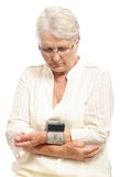 Blood pressure monitoring Royalty Free Stock Photography