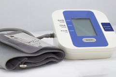Blood pressure monitoring device Stock Image