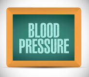 Blood pressure sign illustration design Stock Images