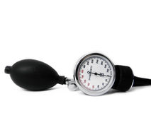 Blood Pressure. On a white surface Stock Photography