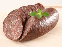 Blood pudding Stock Images