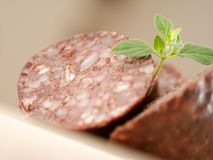 Blood pudding Royalty Free Stock Photography