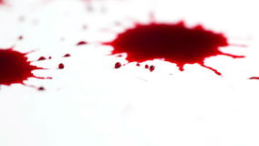 Blood stock footage