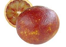 Blood red orange slice Royalty Free Stock Photography