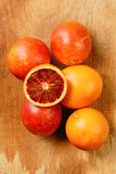 Blood red oranges Royalty Free Stock Photo