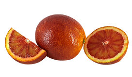 Blood red oranges Royalty Free Stock Photography