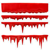 Blood or red paint stock illustration