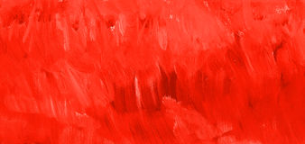 Blood red paint texture. Hand drawn background. Raster illustration Royalty Free Stock Photography