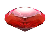 Blood red ruby Royalty Free Stock Images