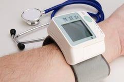 Blood ressure meter Royalty Free Stock Photo