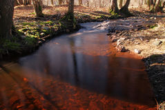 Blood river Stock Photo