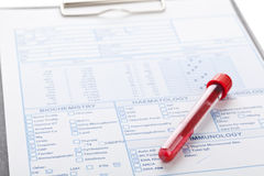Blood sample Stock Images