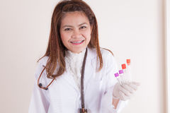 Blood sample Royalty Free Stock Photo
