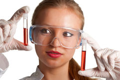 Blood Samples Stock Photos