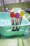 Blood samples Stock Photos