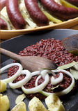 Blood sausage Royalty Free Stock Photography
