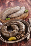 Blood sausage. Stock Image
