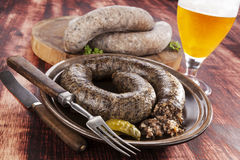 Blood sausage. Stock Images