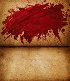 Blood splash Stock Image