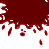 Blood splash background Stock Photo