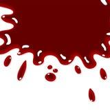 Blood splash background Stock Photo
