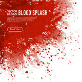 Blood Splash Background Webpage Design Poster Stock Photos