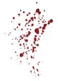 Blood splash Royalty Free Stock Images