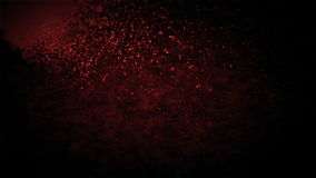 Blood splash and drip, stock footage vector illustration